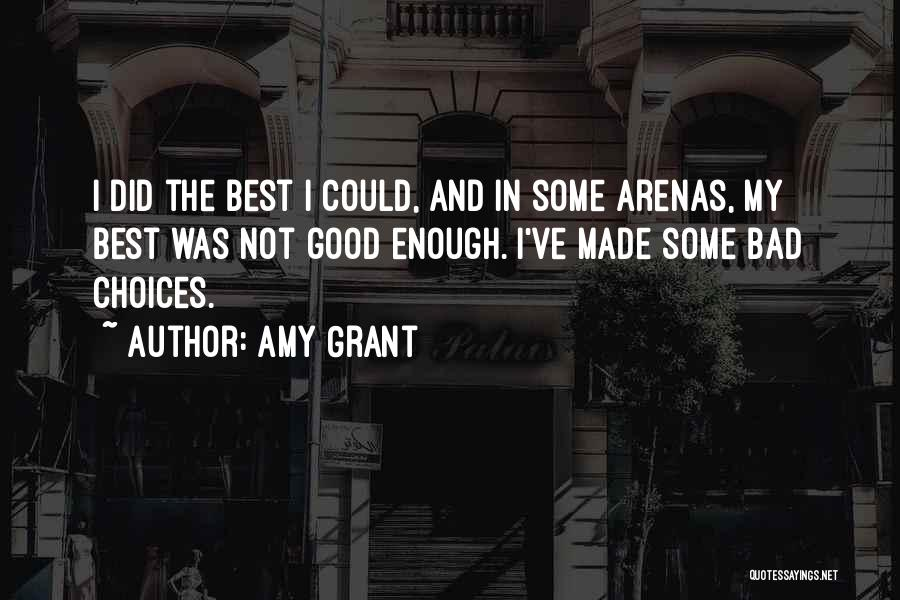 Some Bad Quotes By Amy Grant
