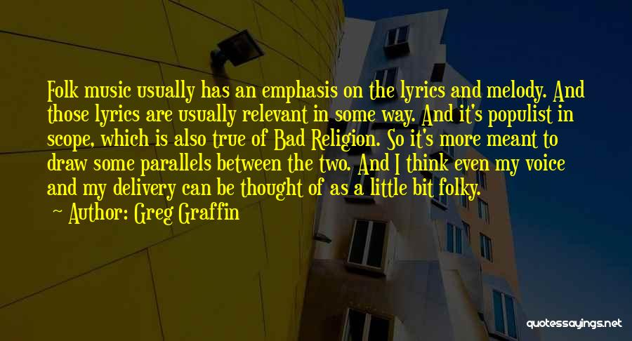 Some Bad Quotes By Greg Graffin