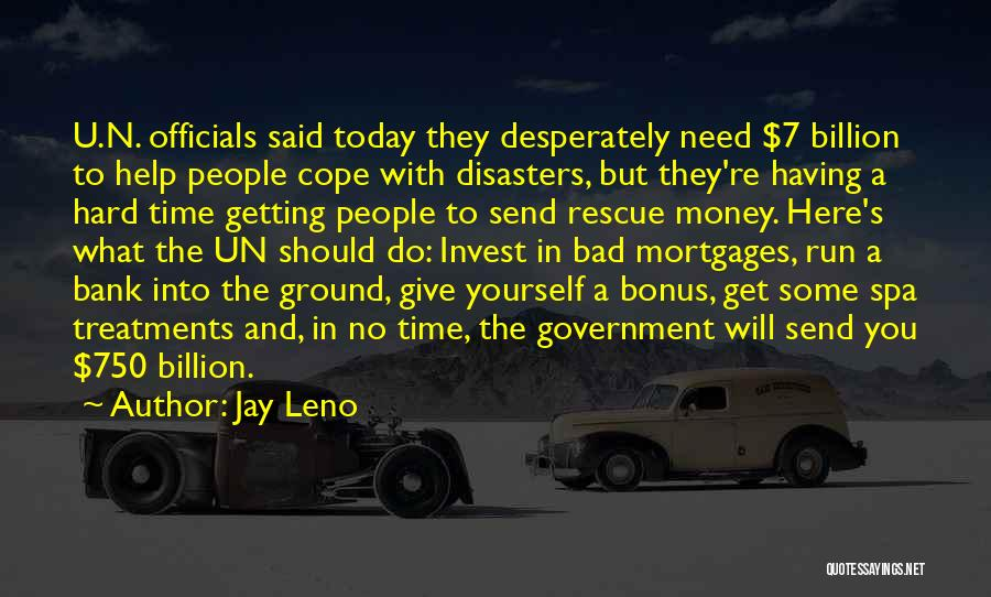 Some Bad Quotes By Jay Leno