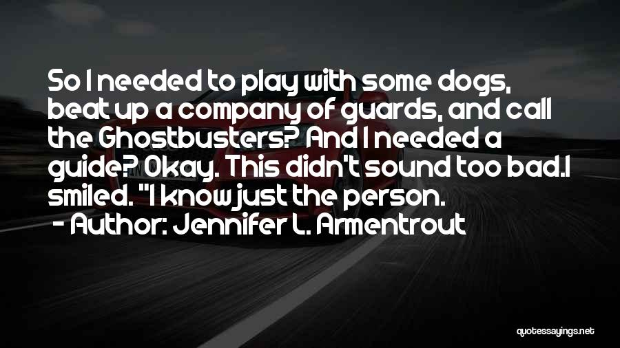 Some Bad Quotes By Jennifer L. Armentrout