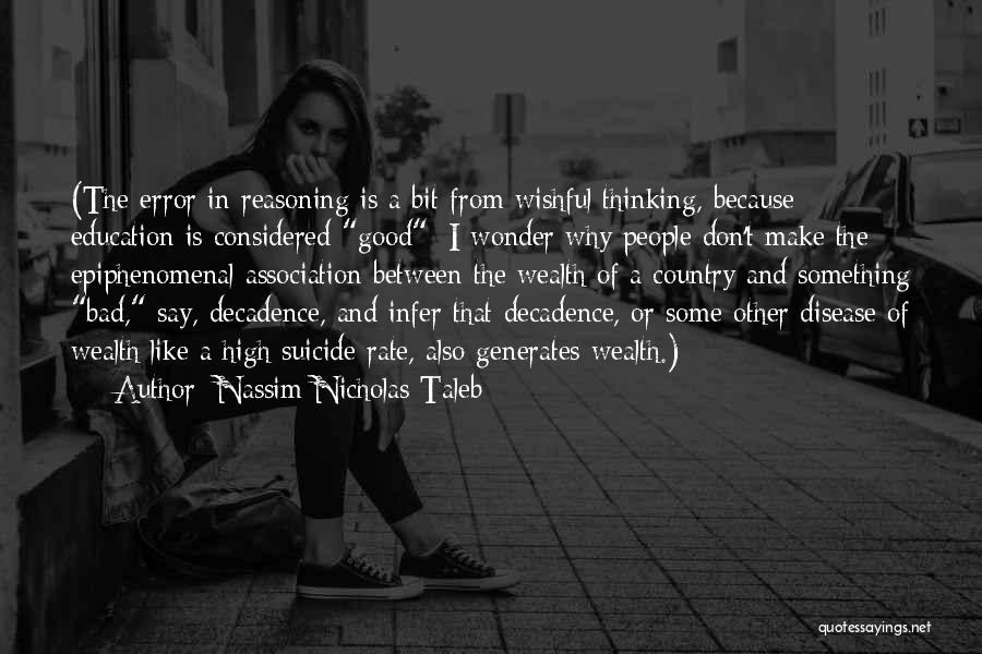 Some Bad Quotes By Nassim Nicholas Taleb