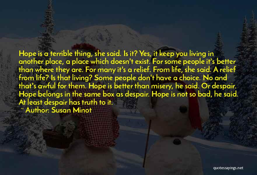 Some Bad Quotes By Susan Minot