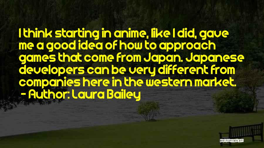 Some Really Good Anime Quotes By Laura Bailey