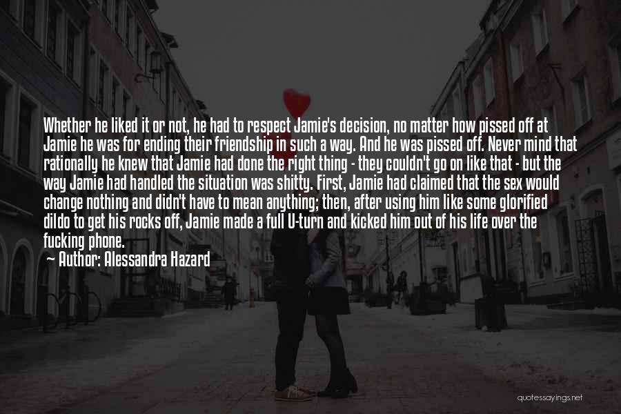 Some Things Never Change Friendship Quotes By Alessandra Hazard