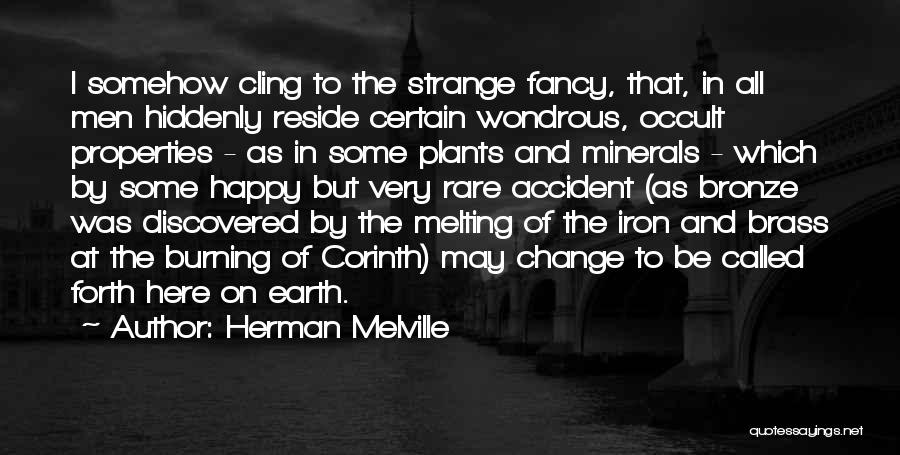 Somehow Happy Quotes By Herman Melville