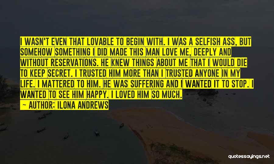 Somehow Happy Quotes By Ilona Andrews