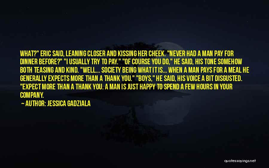 Somehow Happy Quotes By Jessica Gadziala