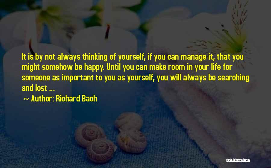 Somehow Happy Quotes By Richard Bach
