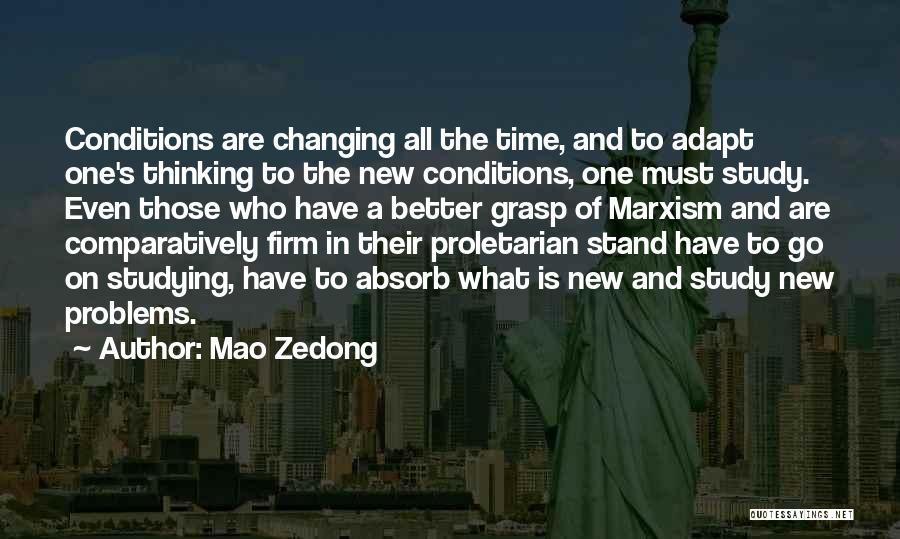 Someone Changing For The Better Quotes By Mao Zedong