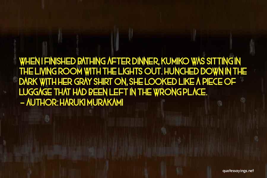 Someone Doing Something Wrong Quotes By Haruki Murakami