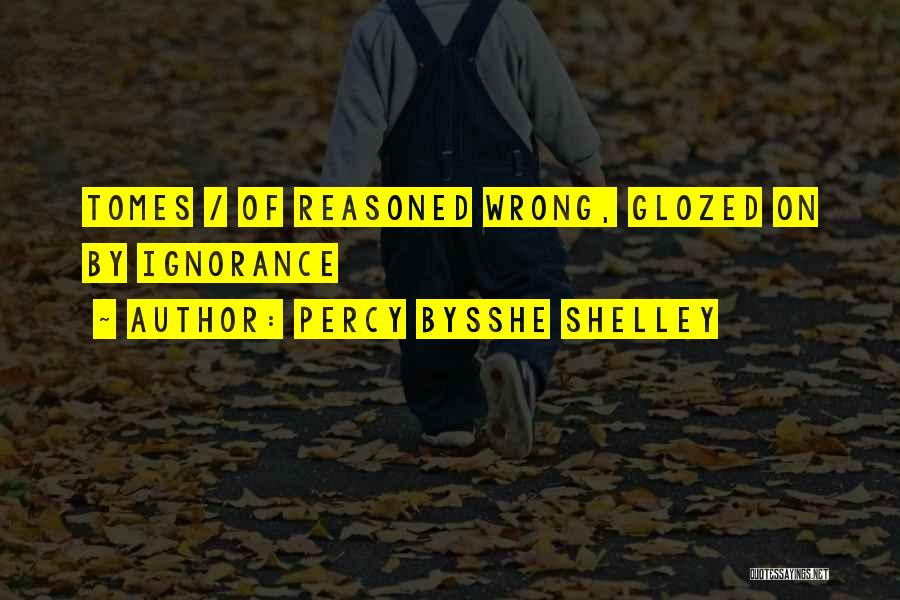 Someone Doing Something Wrong Quotes By Percy Bysshe Shelley