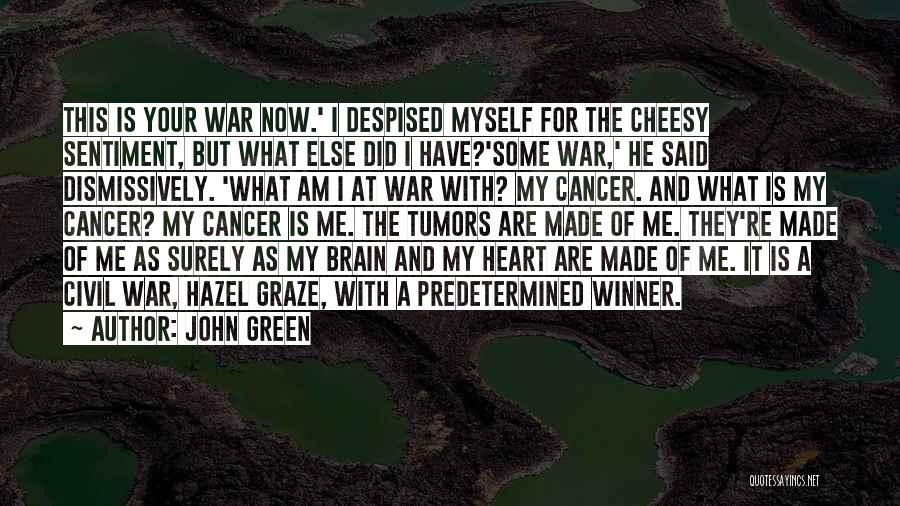 Someone Dying From Cancer Quotes By John Green