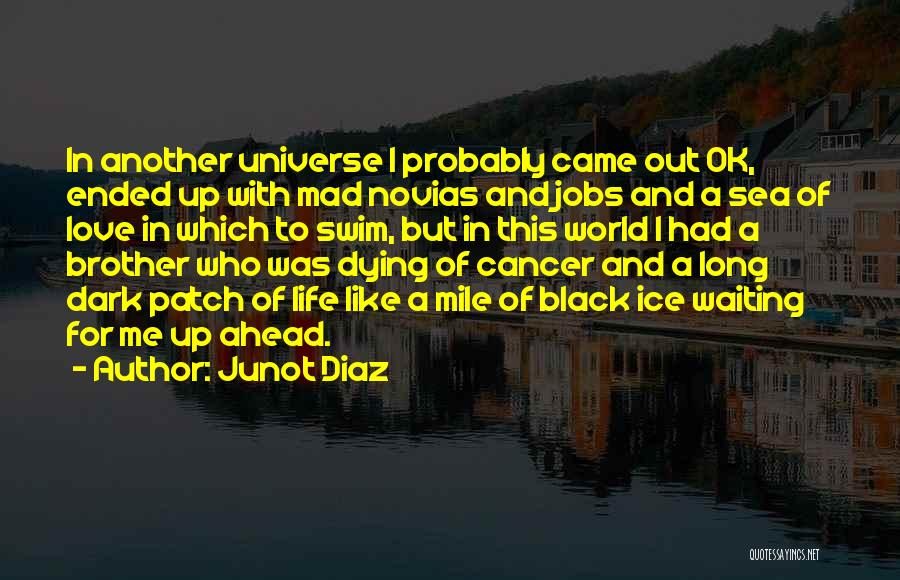 Someone Dying From Cancer Quotes By Junot Diaz