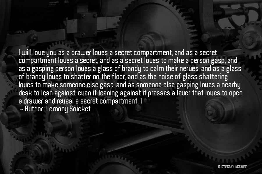 Someone Else Will Love Quotes By Lemony Snicket