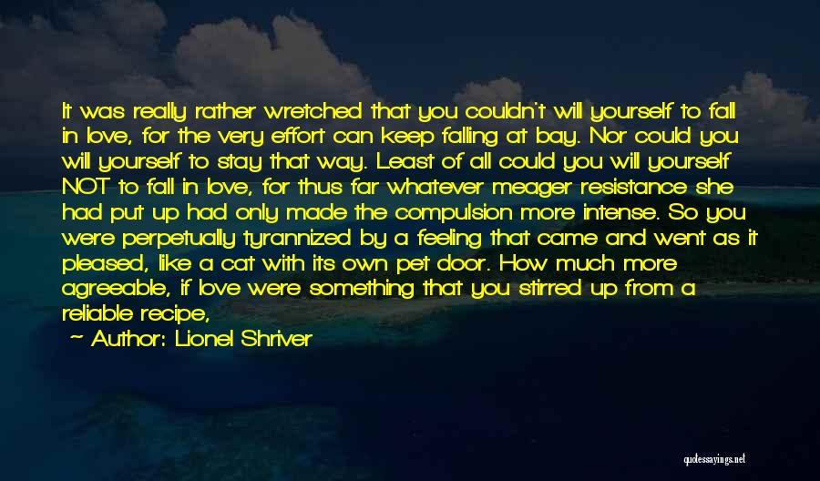 Someone Else Will Love Quotes By Lionel Shriver
