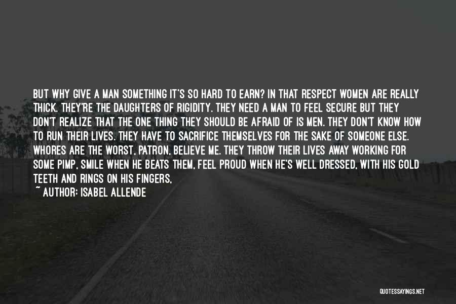 Someone Else's Man Quotes By Isabel Allende