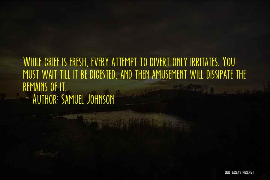Someone Irritates You Quotes By Samuel Johnson