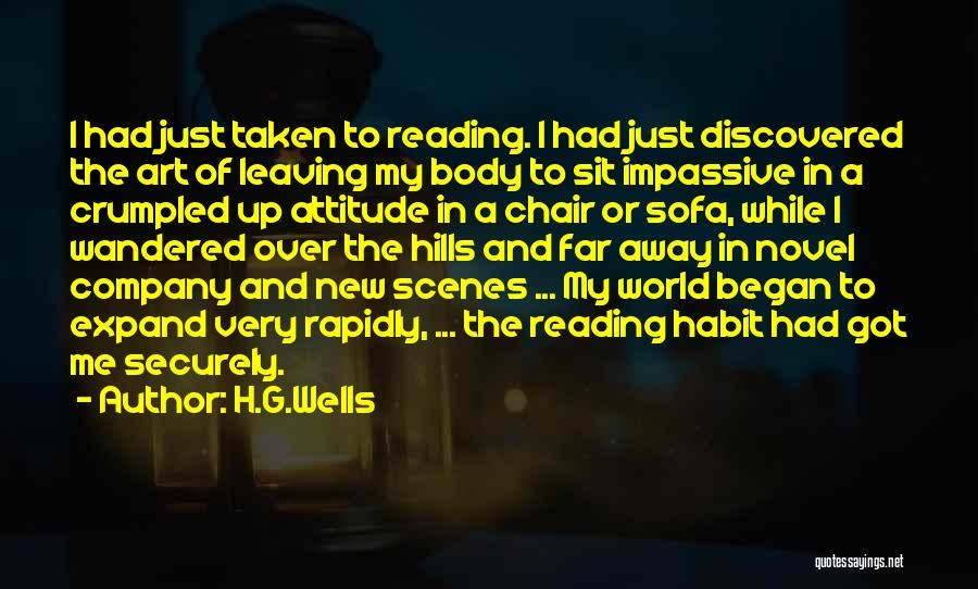 Someone Leaving The Company Quotes By H.G.Wells