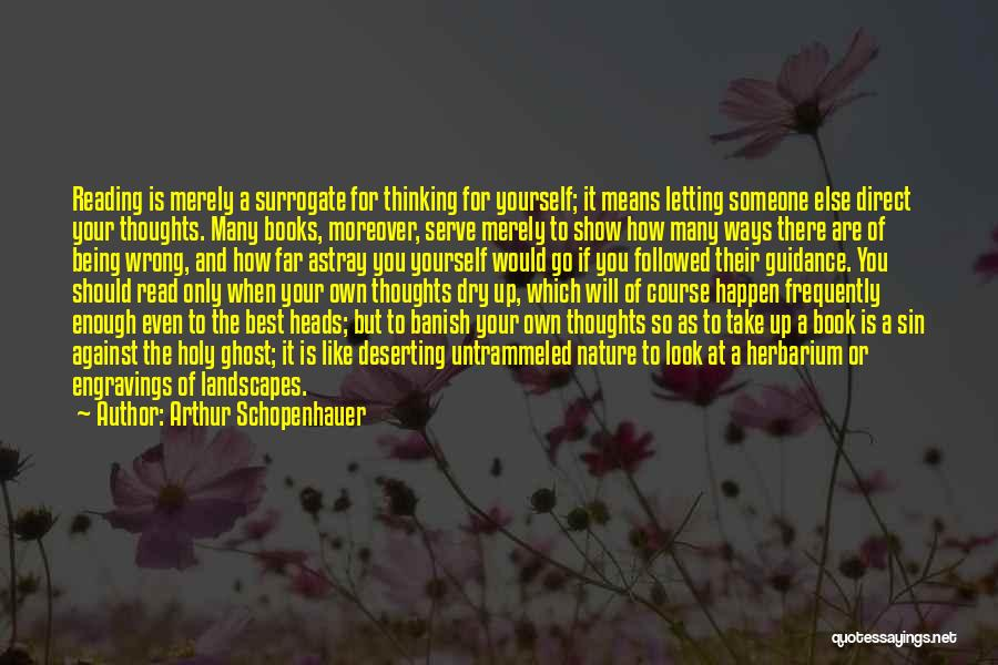 Someone Like You Book Quotes By Arthur Schopenhauer