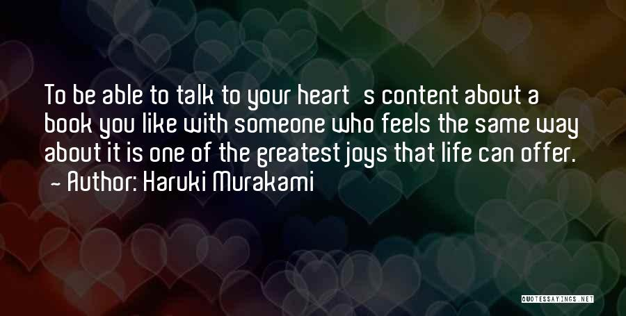 Someone Like You Book Quotes By Haruki Murakami