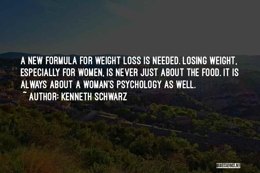 Someone Losing Weight Quotes By Kenneth Schwarz