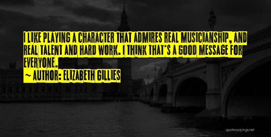 Someone Playing Hard To Get Quotes By Elizabeth Gillies
