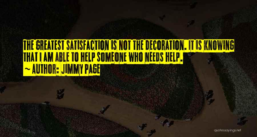 Someone To Help Quotes By Jimmy Page