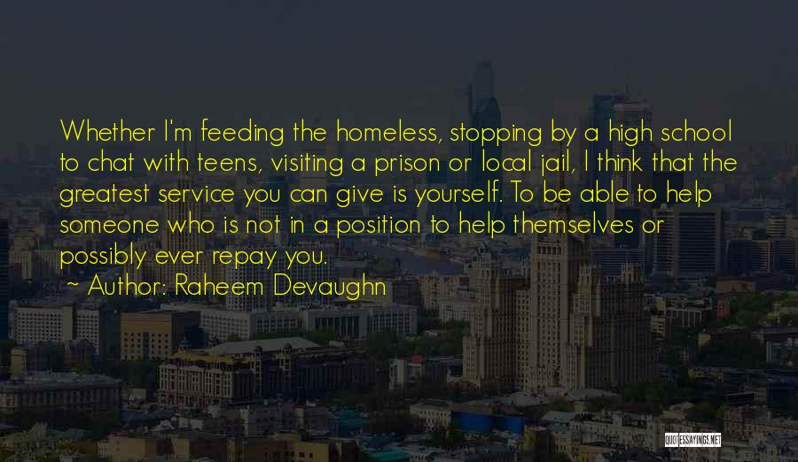 Someone To Help Quotes By Raheem Devaughn