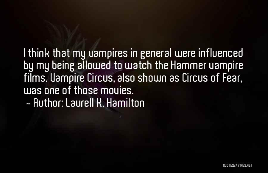 Someone To Watch Over Me Quotes By Laurell K. Hamilton