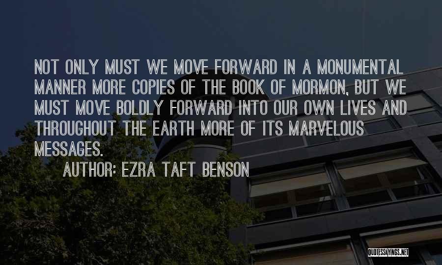 Someone Who Copies You Quotes By Ezra Taft Benson