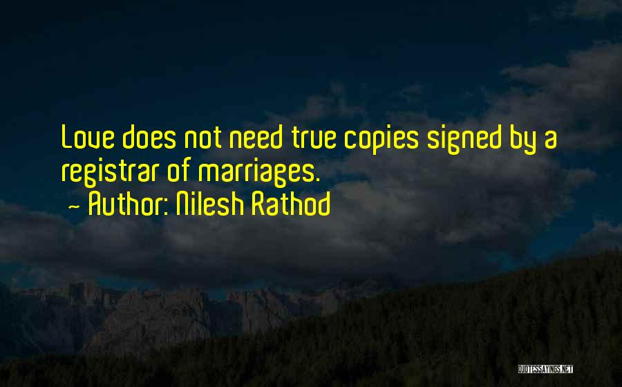 Someone Who Copies You Quotes By Nilesh Rathod