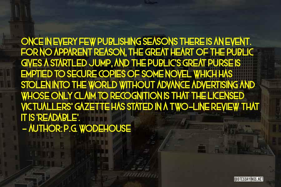 Someone Who Copies You Quotes By P.G. Wodehouse