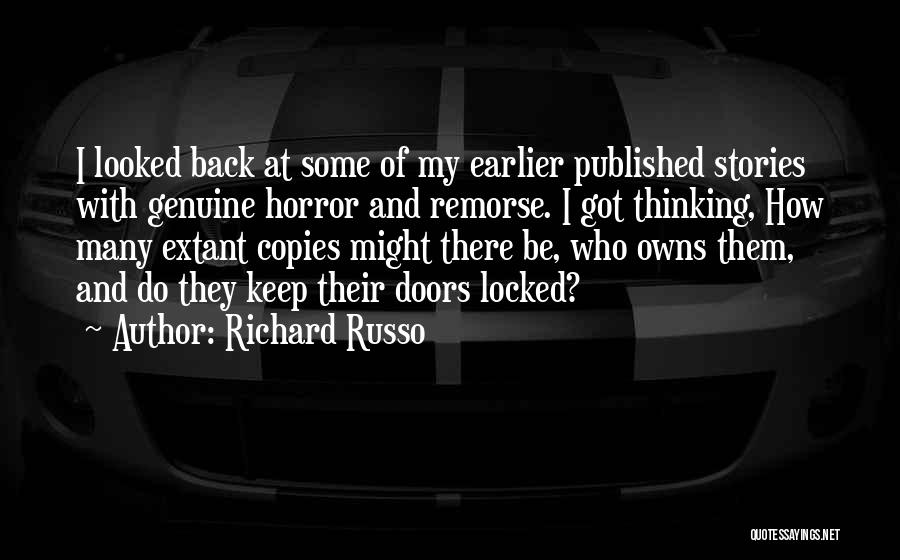 Someone Who Copies You Quotes By Richard Russo
