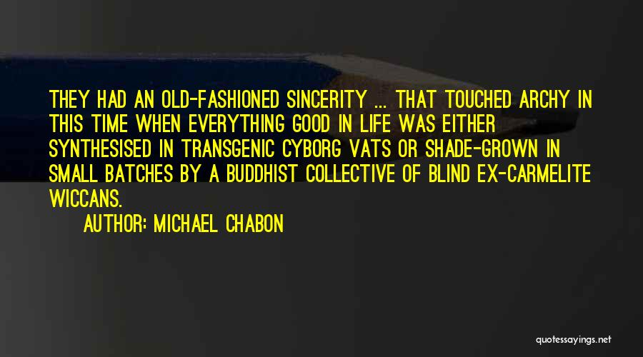 Someone Who Has Touched Your Life Quotes By Michael Chabon