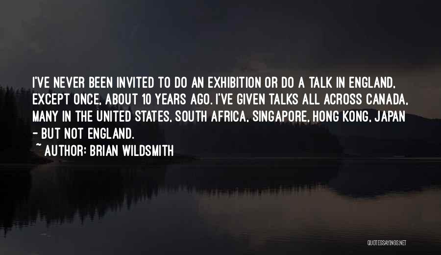 Someone Who Talks Too Much Quotes By Brian Wildsmith