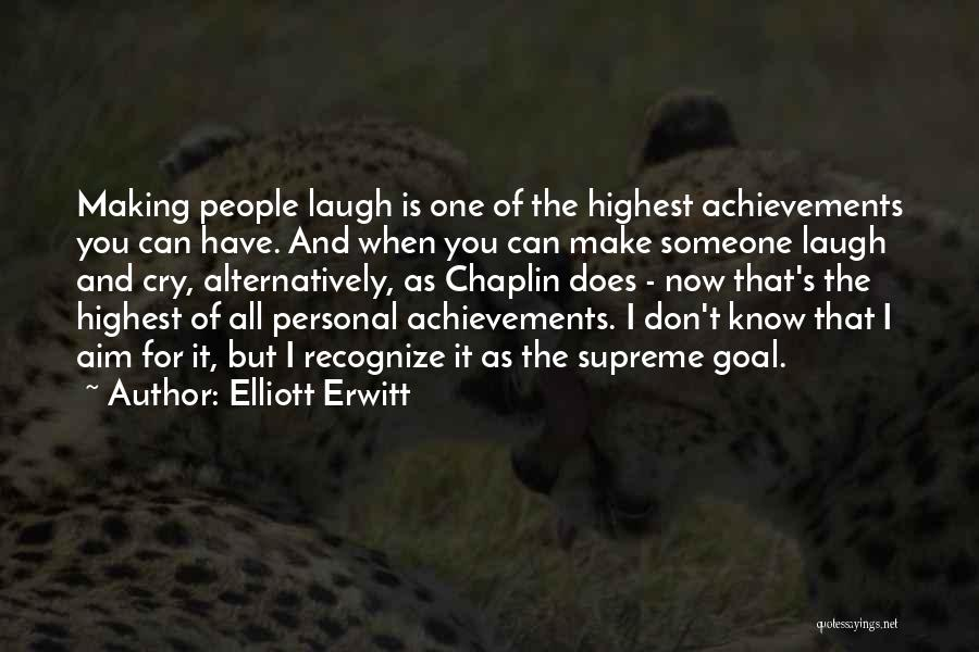 Someone You Can Have Quotes By Elliott Erwitt