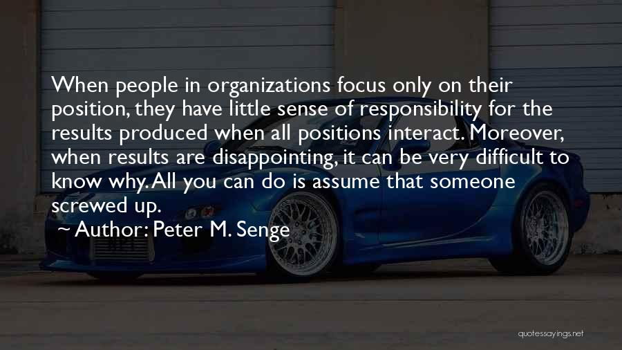 Someone You Can Have Quotes By Peter M. Senge
