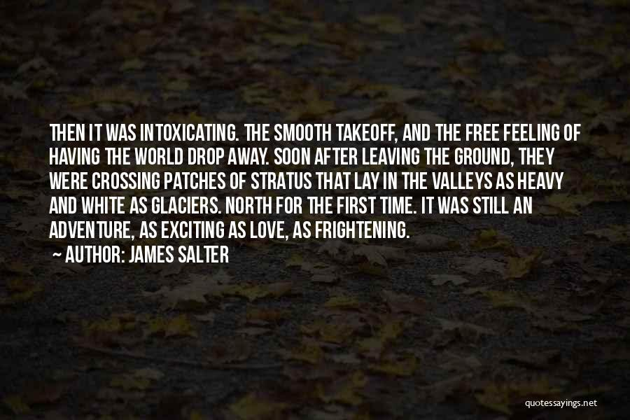 Someone You Love Is Leaving Quotes By James Salter