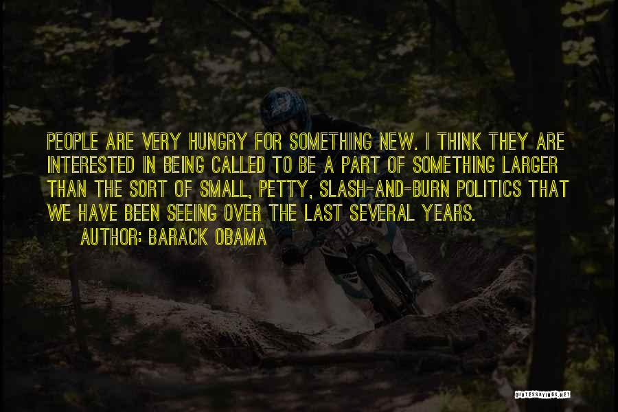 Something Being Over Quotes By Barack Obama