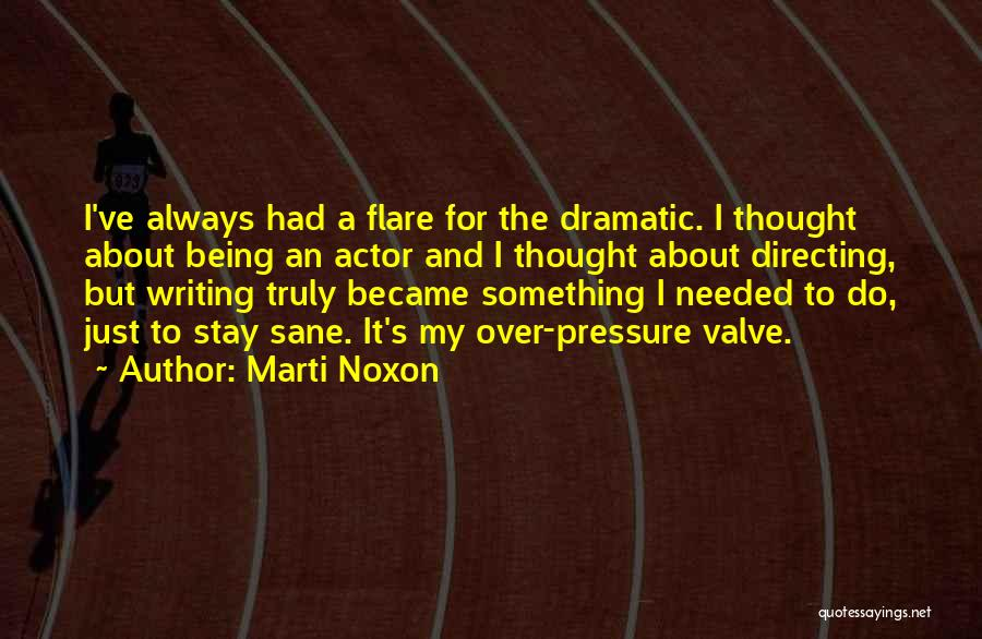 Something Being Over Quotes By Marti Noxon