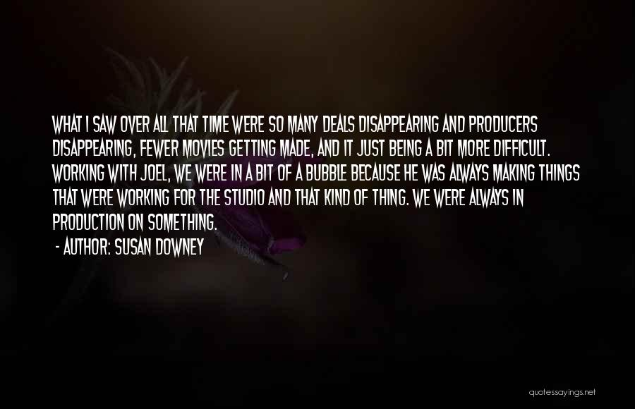 Something Being Over Quotes By Susan Downey