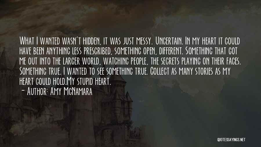 Something In My Heart Quotes By Amy McNamara