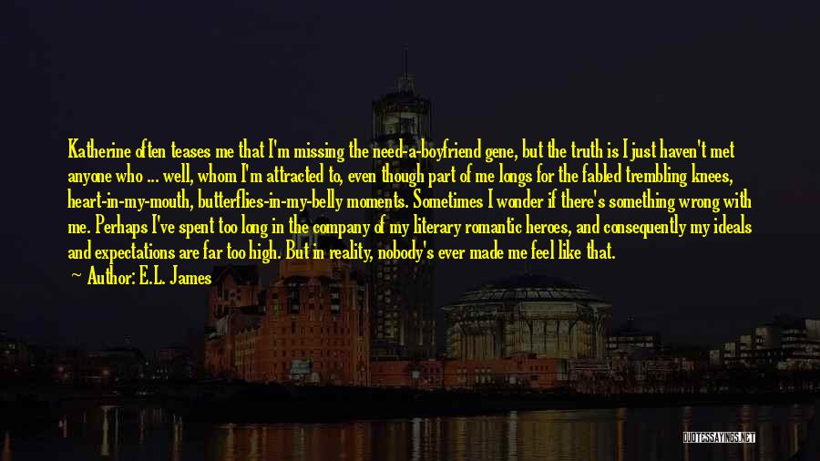 Something In My Heart Quotes By E.L. James