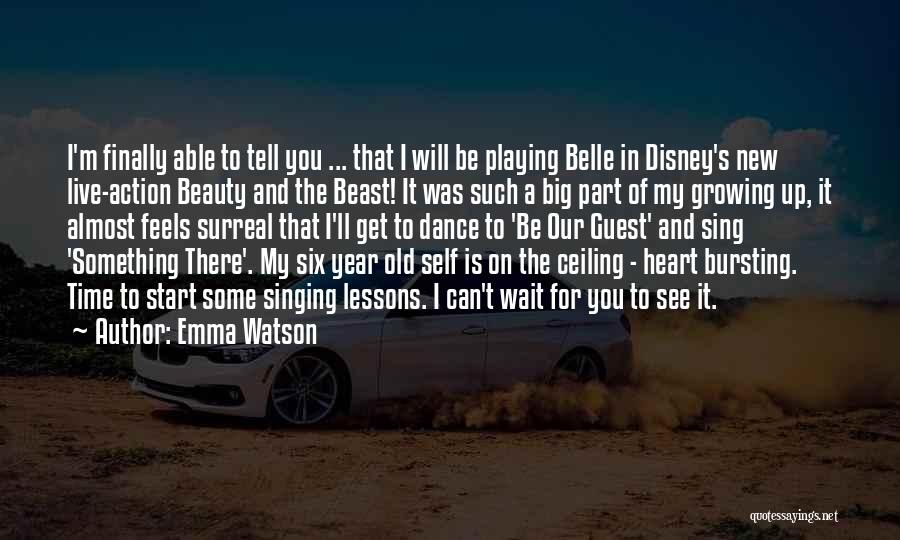 Something In My Heart Quotes By Emma Watson