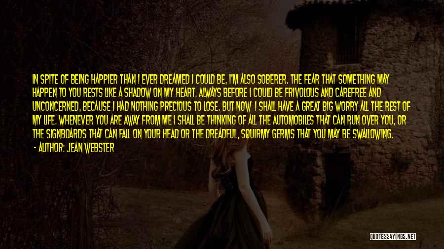 Something In My Heart Quotes By Jean Webster