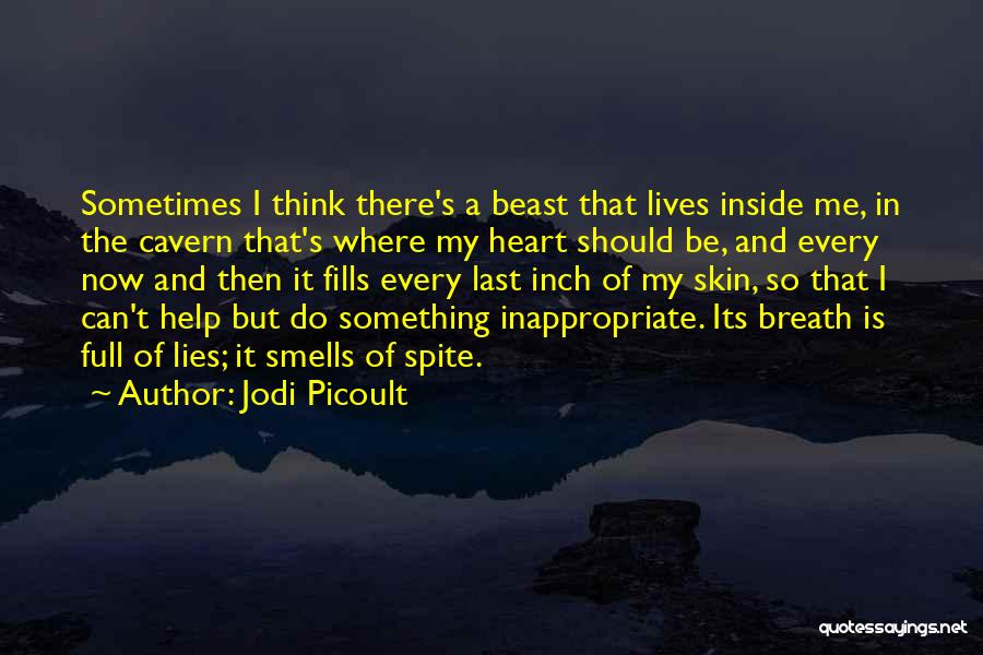 Something In My Heart Quotes By Jodi Picoult