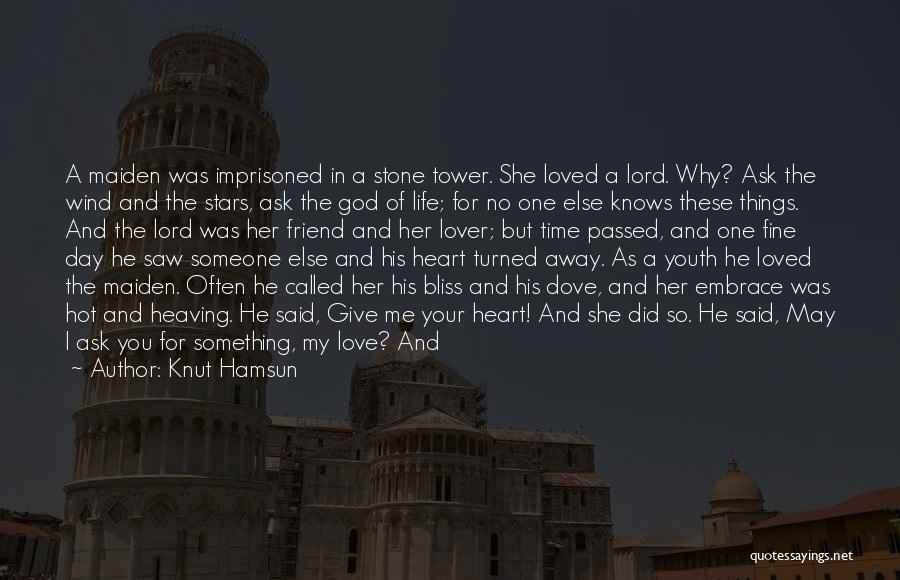Something In My Heart Quotes By Knut Hamsun