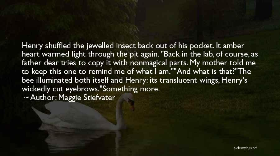 Something In My Heart Quotes By Maggie Stiefvater