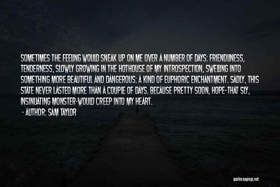Something In My Heart Quotes By Sam Taylor