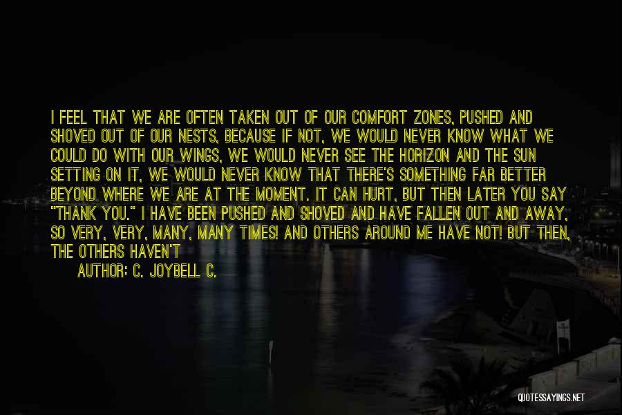 Something You Can't Change Quotes By C. JoyBell C.